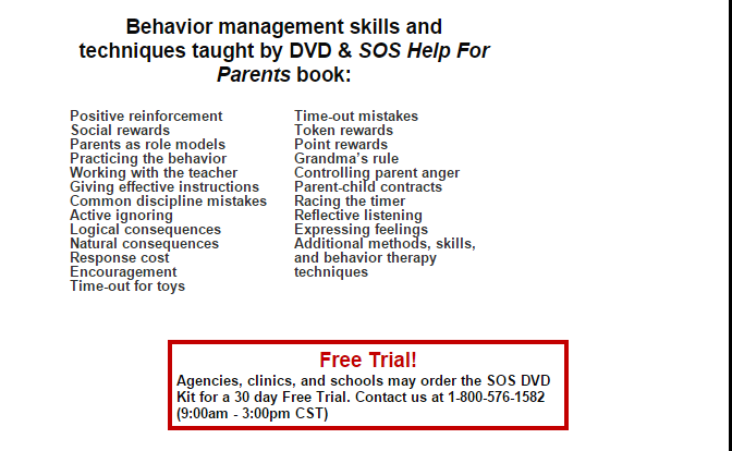 Video KIT SOS Help For Parents is an education training program for counselors, psychologist, and group leaders doing group work.