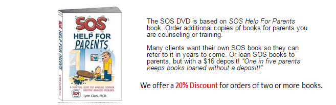 Family relationships and parent child relationships are helped with SOS.