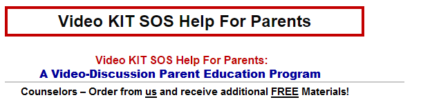 Time-out in Lynn Clark's SOS Help For Parents helps child behavior problems and hyperactivity.