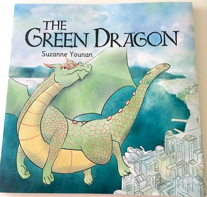 Recently released - A book that I recently worked on has just been printed finally!The Green Dragon by Suzanne Younan.