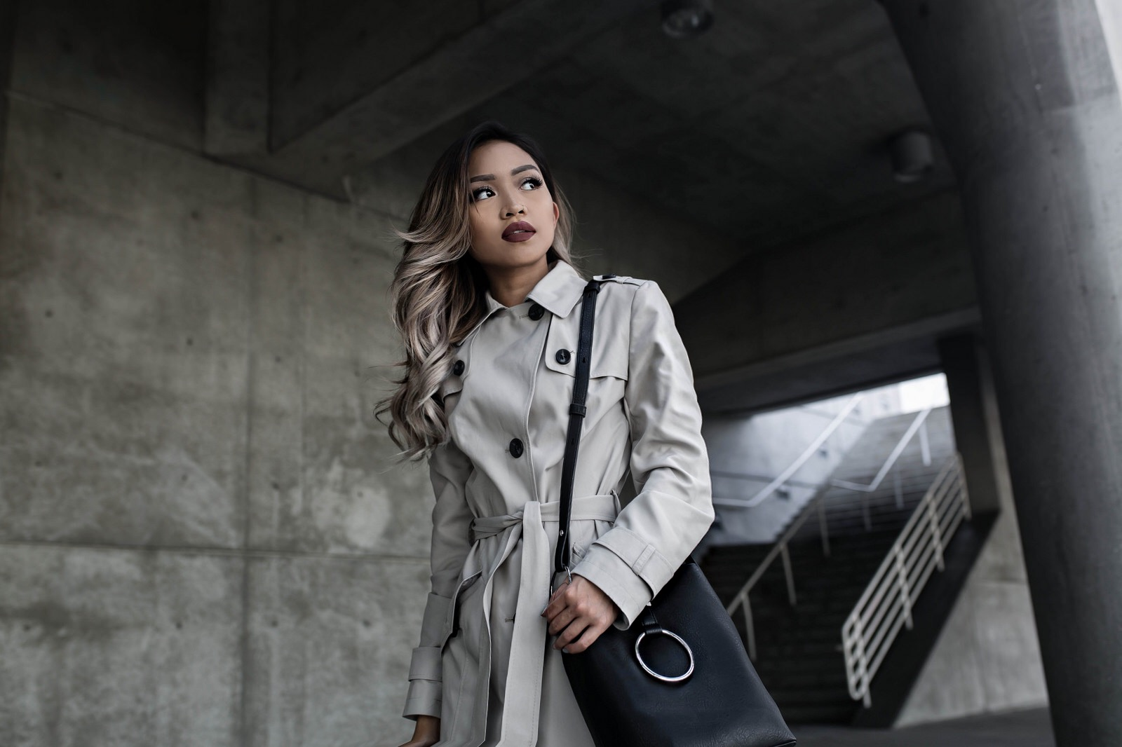 M&S Belted Trench with Stormwear