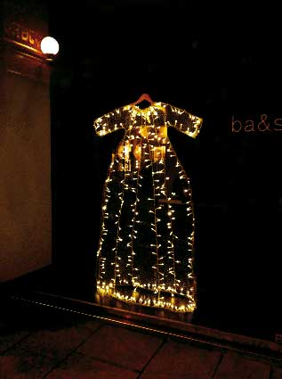 Vitrine ba&sh, Noël 2012