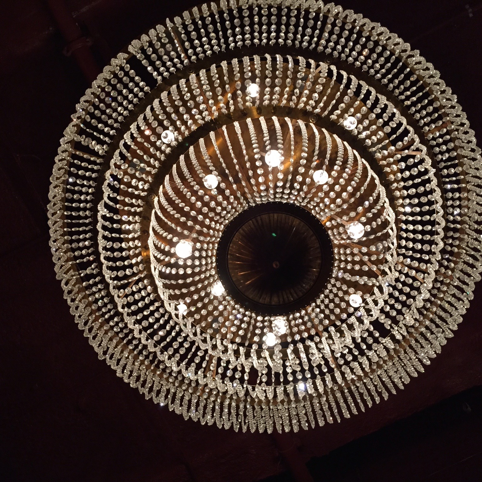 Just one of the amazing lights at Jamies