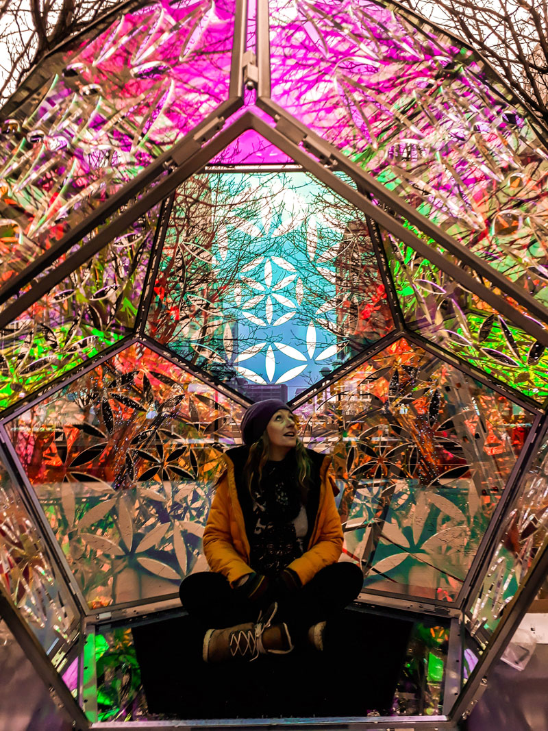 Dazzling Dodecahedron during daytime