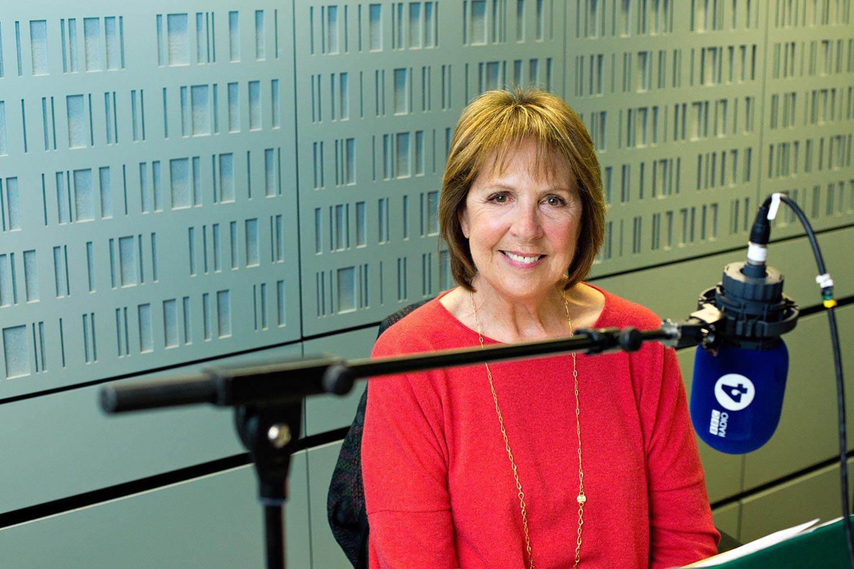 Penelope Wilton recording the BBC radio 4 appeal