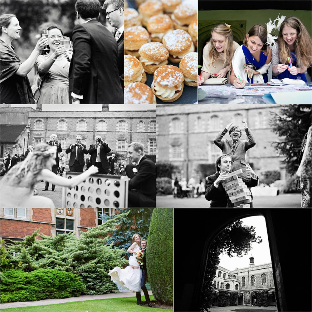 Jesus College Wedding Photography
