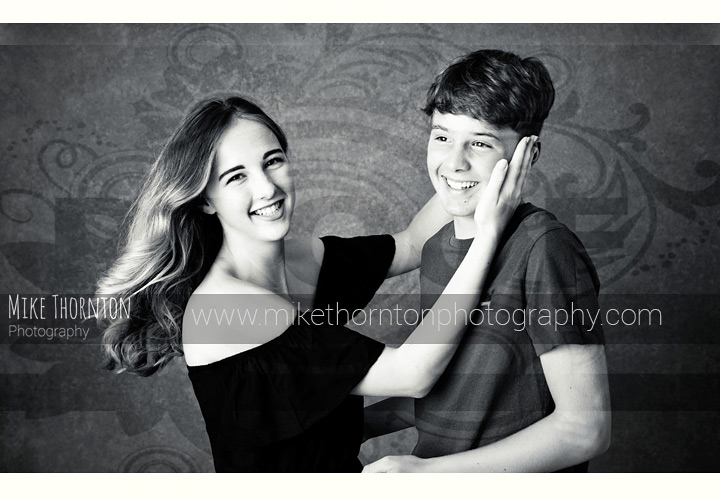 brother and sister portrait photography