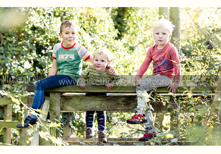 Kids photography on location in Cambridge