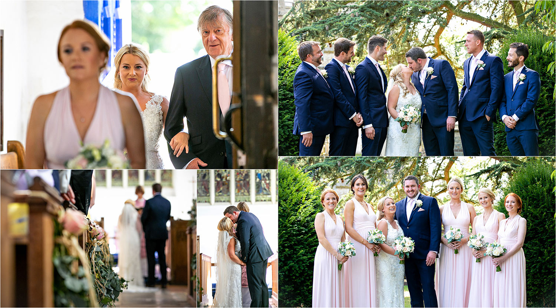 wedding photography girton parish church
