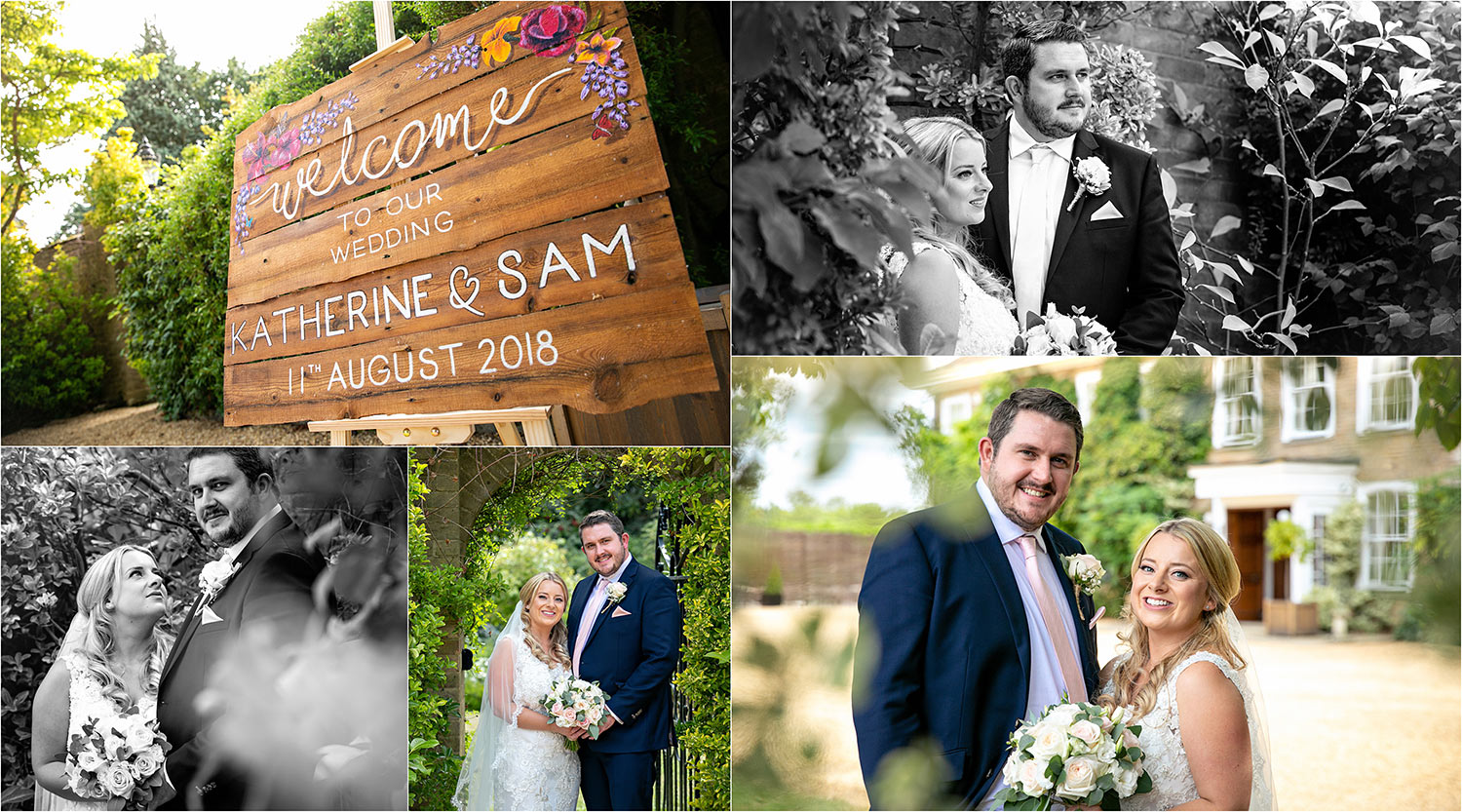 bride and groom photography Rectory Farm