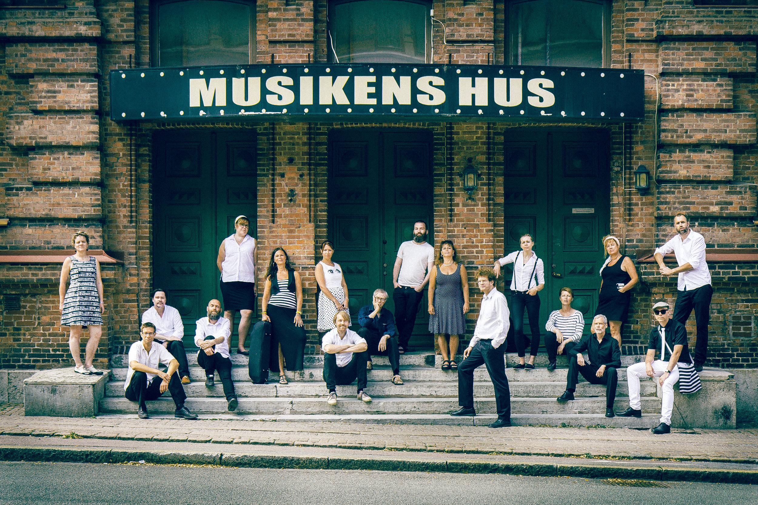 HJÄLP!, Musikens Hus 2016. Fotograf: Christopher Olofsson  HÖGUPPLÖST