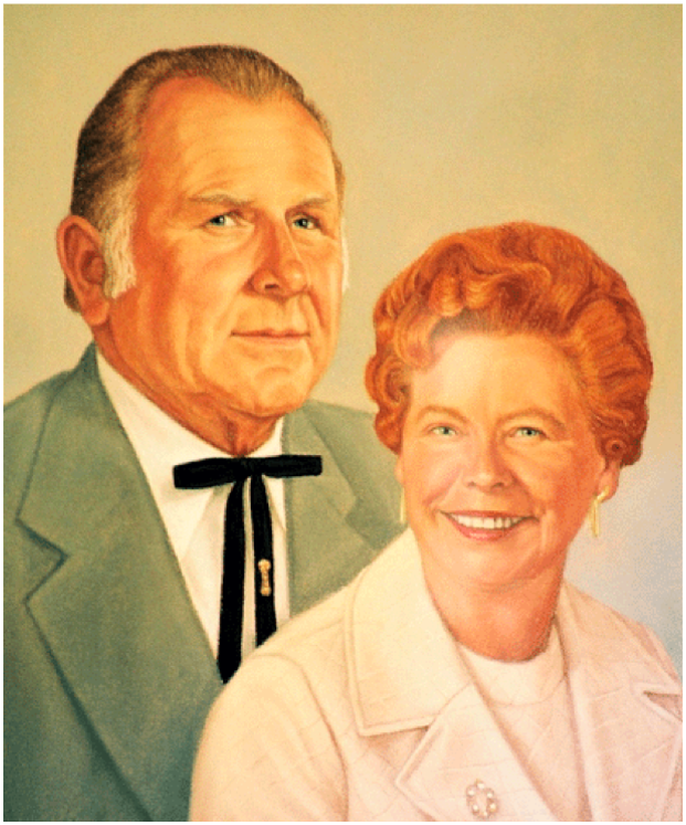 Ernest and Delia Edwards