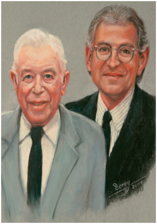 Jim and Simon Spatz