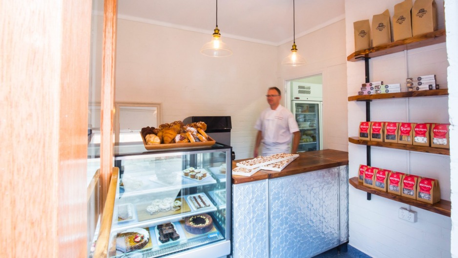 Petite patisserie: Inside Peddling Pastry in Castlemaine. Photo: Chris Hopkins