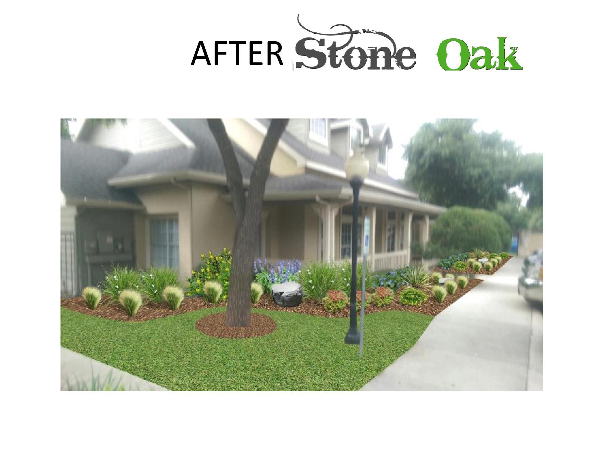 Visualize — Stone Oak land design