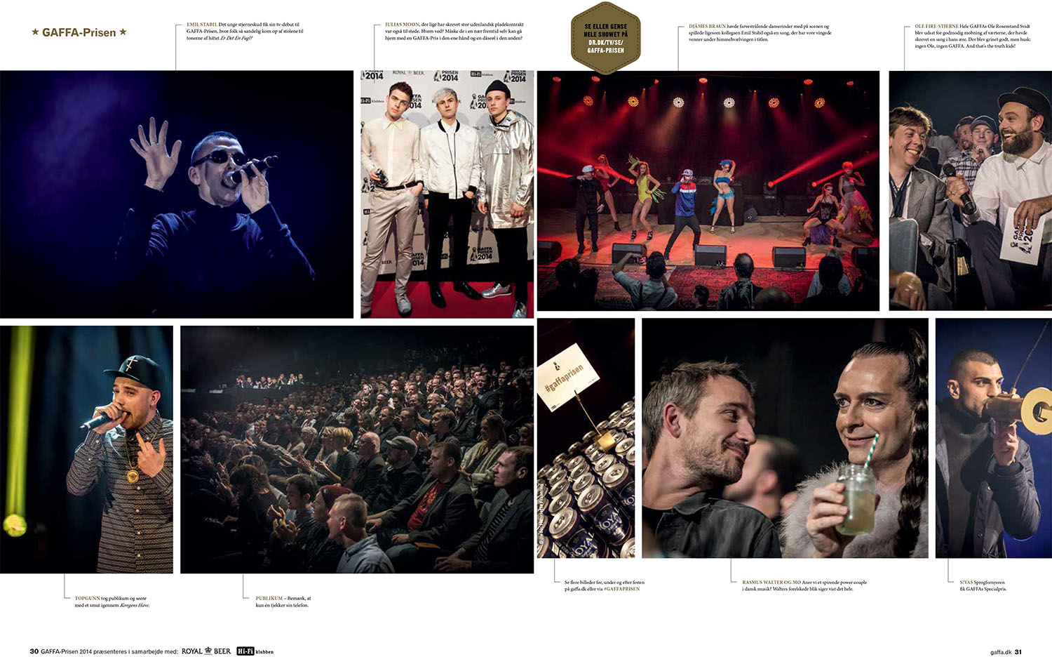 GAFFA Magazine - GAFFA Prisen 2014 - January 2014 Issue