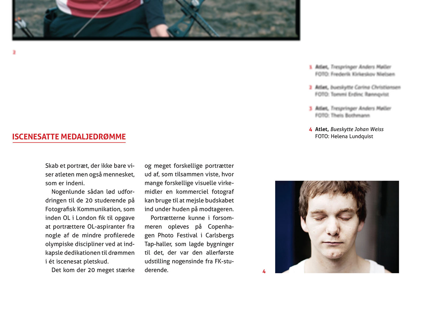 Annual Report, the danish School of Media and Journalism 2012