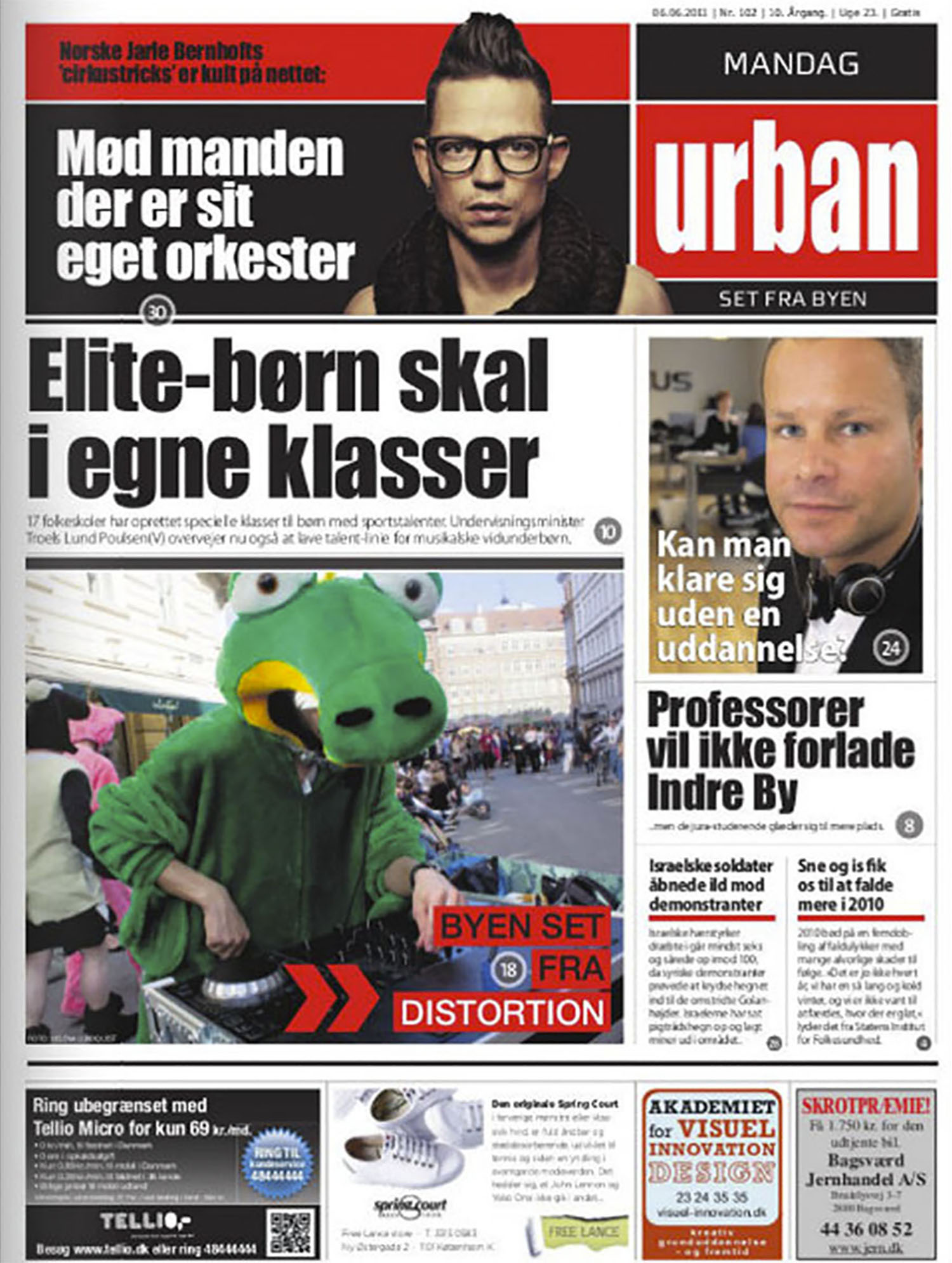 Distortion 2010 - Urban Newspaper