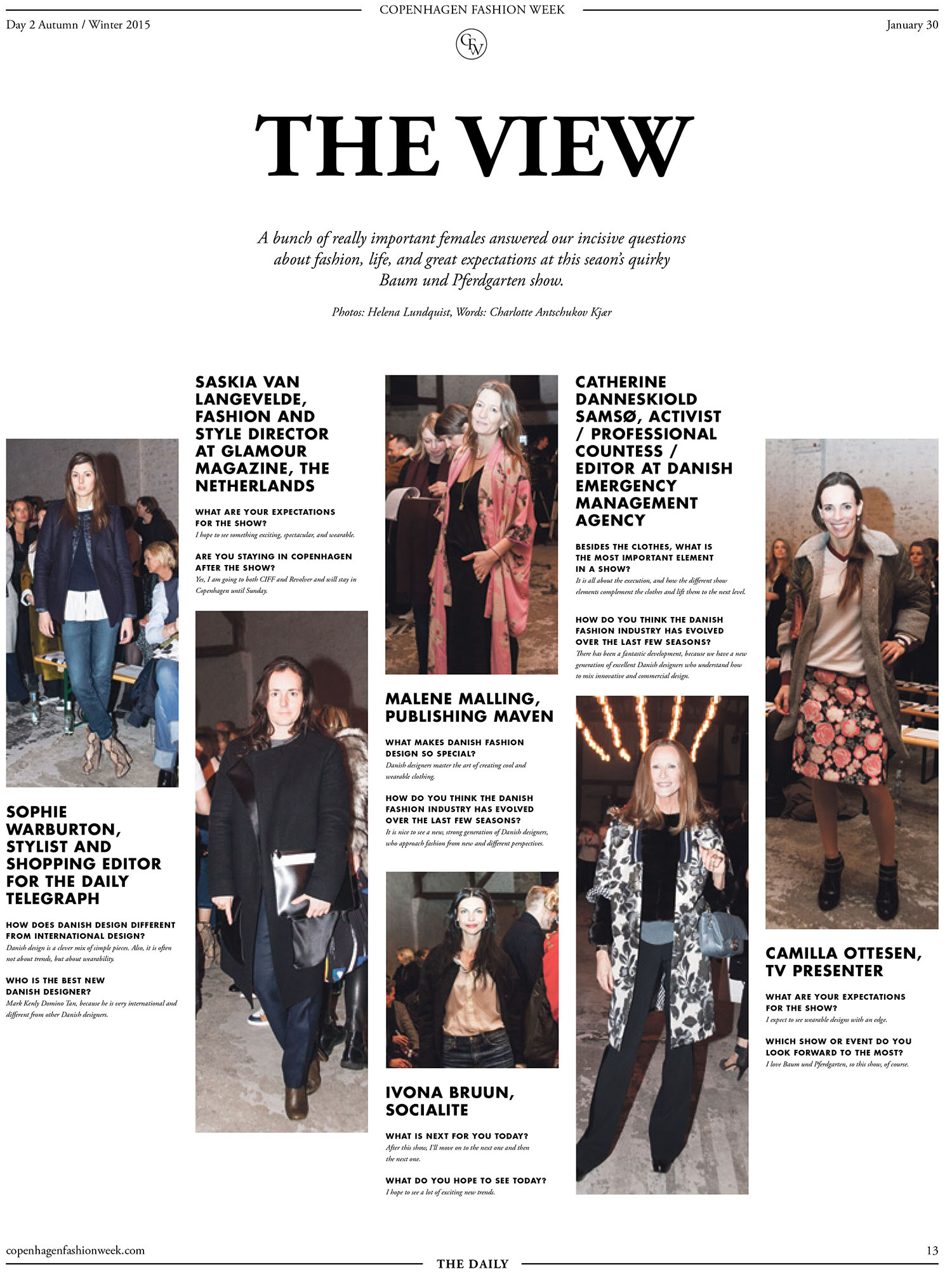 The Daily - Cph Fashion Week AW 15
