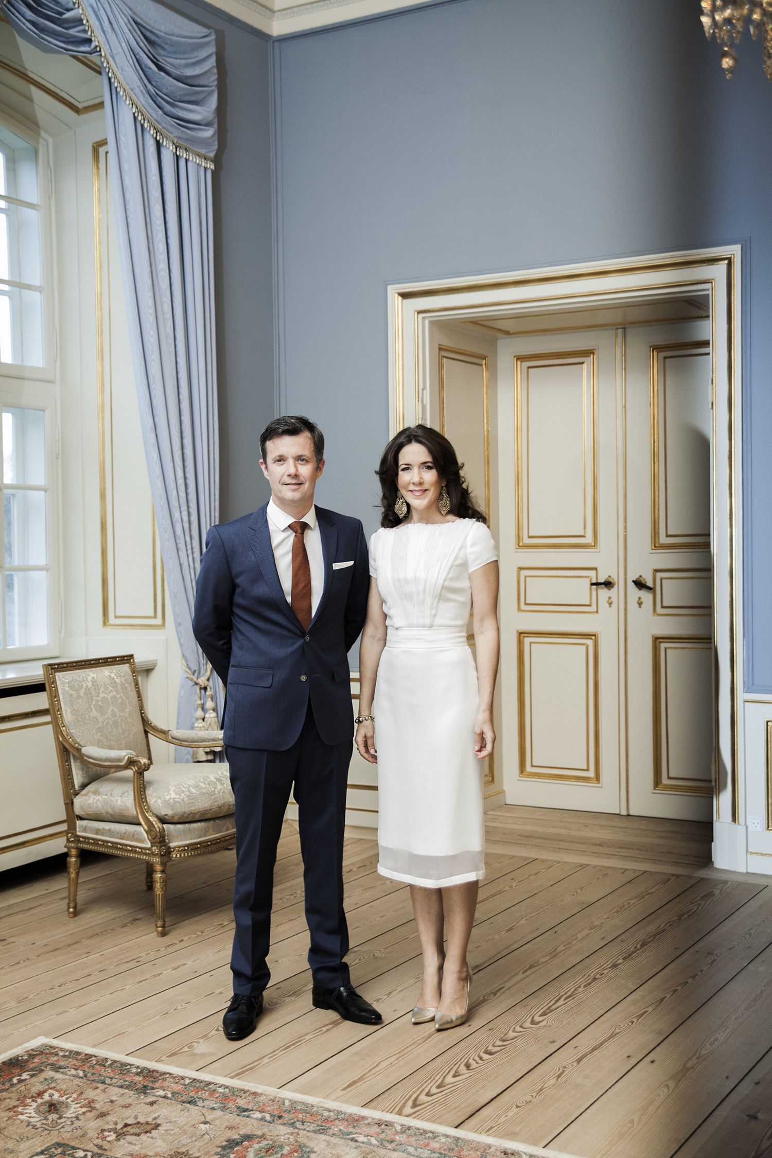 HRH Crown Prince Frederik and Crown Princess Mary