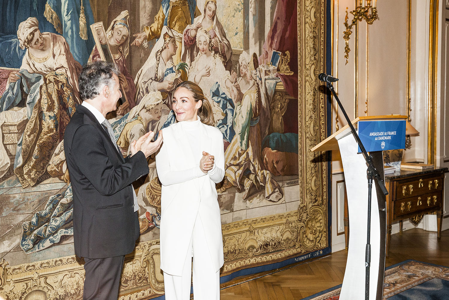 French embassy Human Rights Prize reception