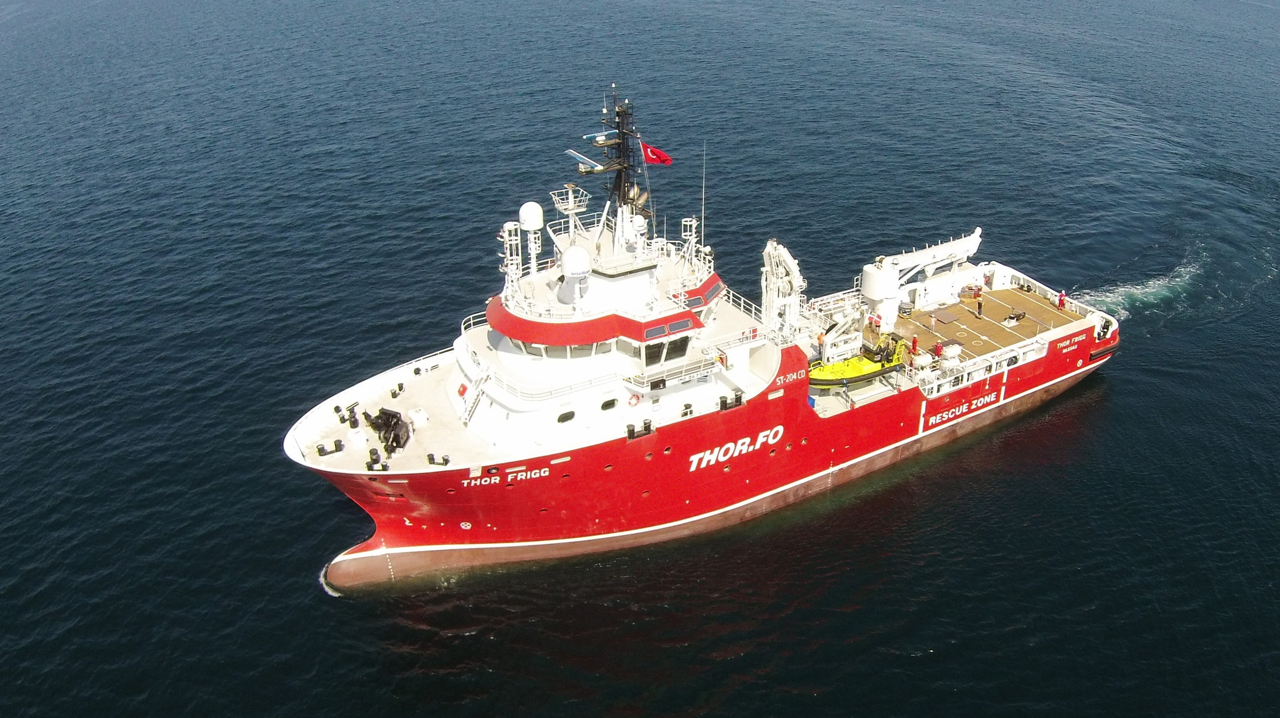 Our new Vessel  Thor Frigg , 2015