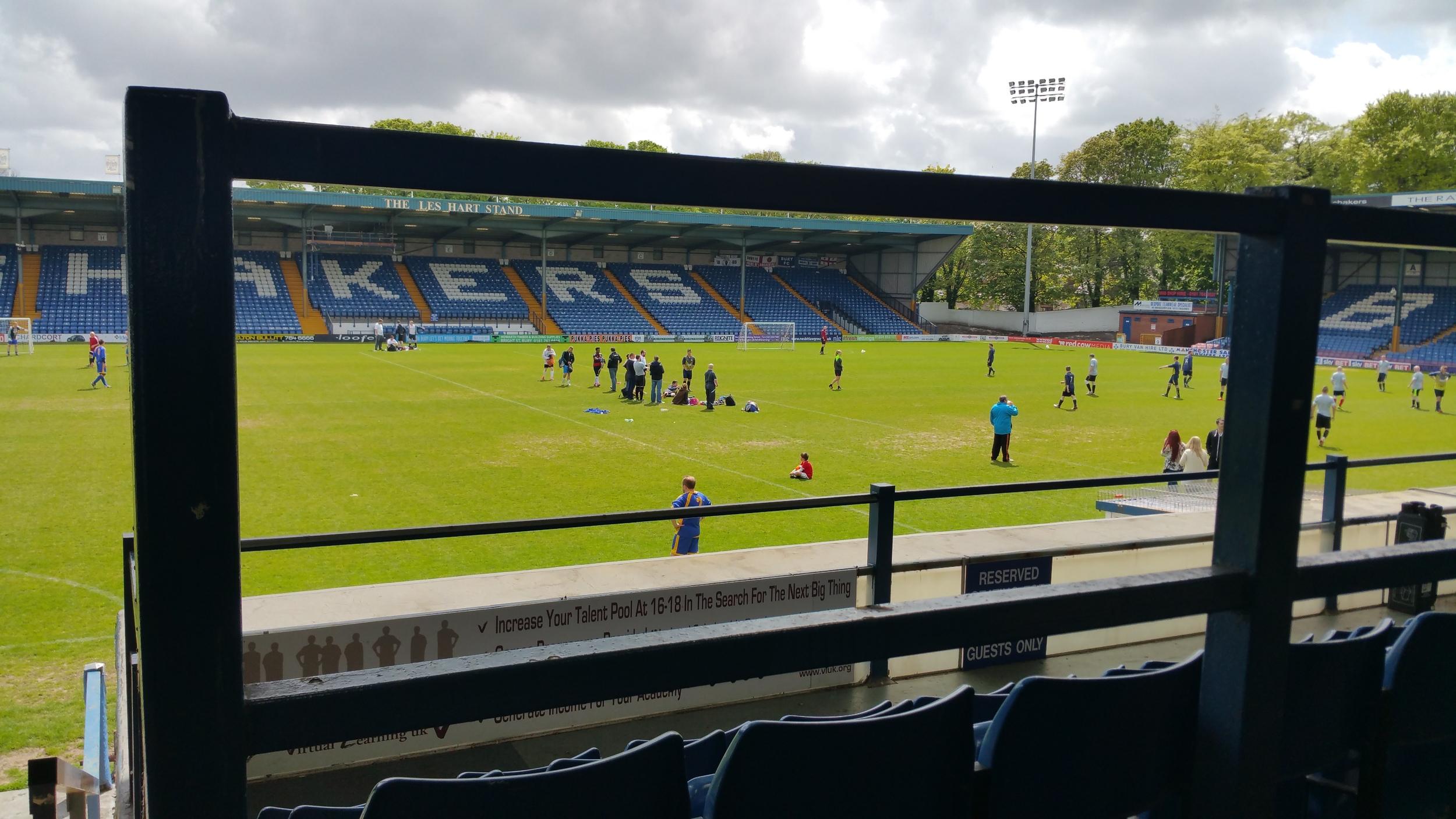 Bury FC Sponsors