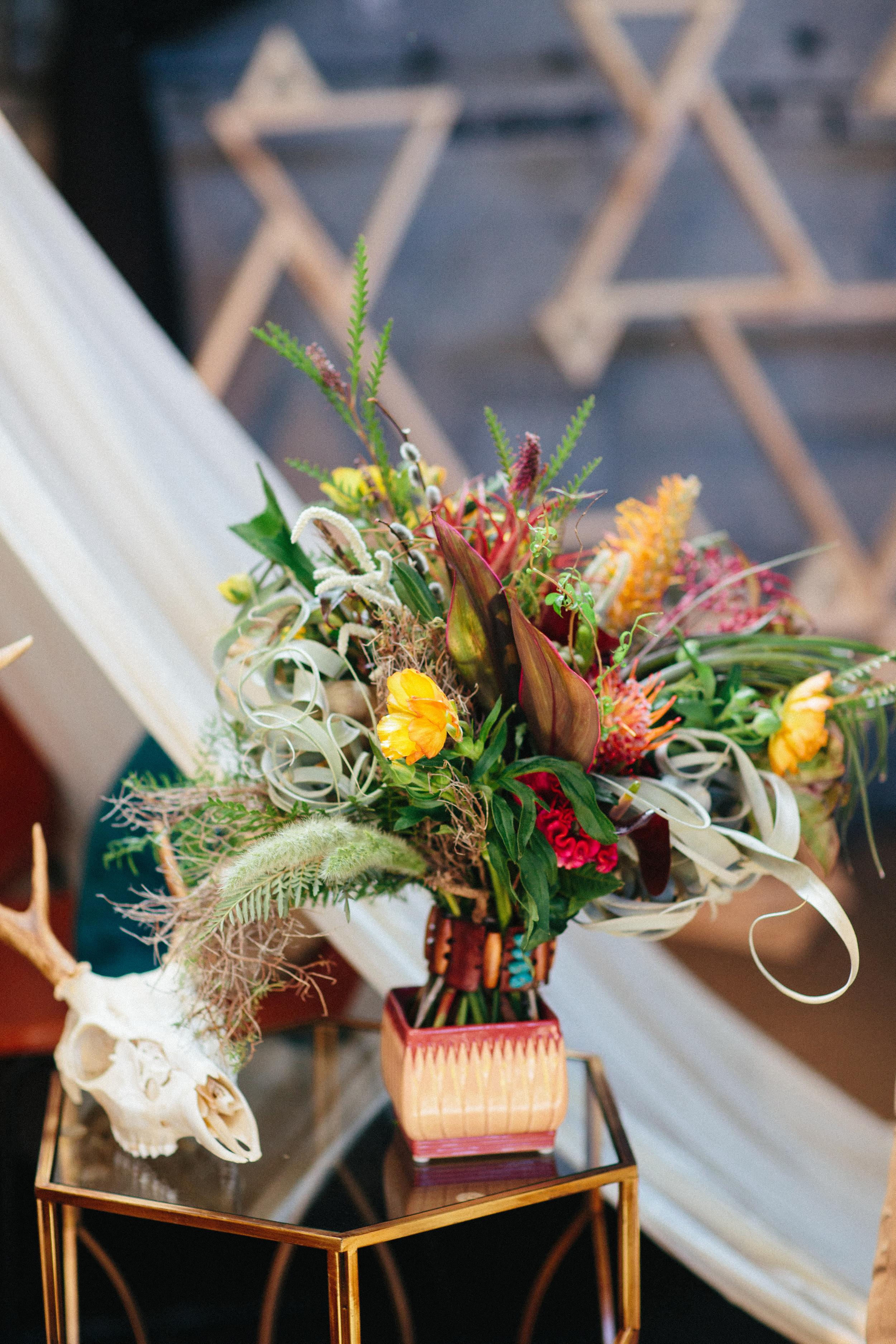 Southwest Bohemian Wedding