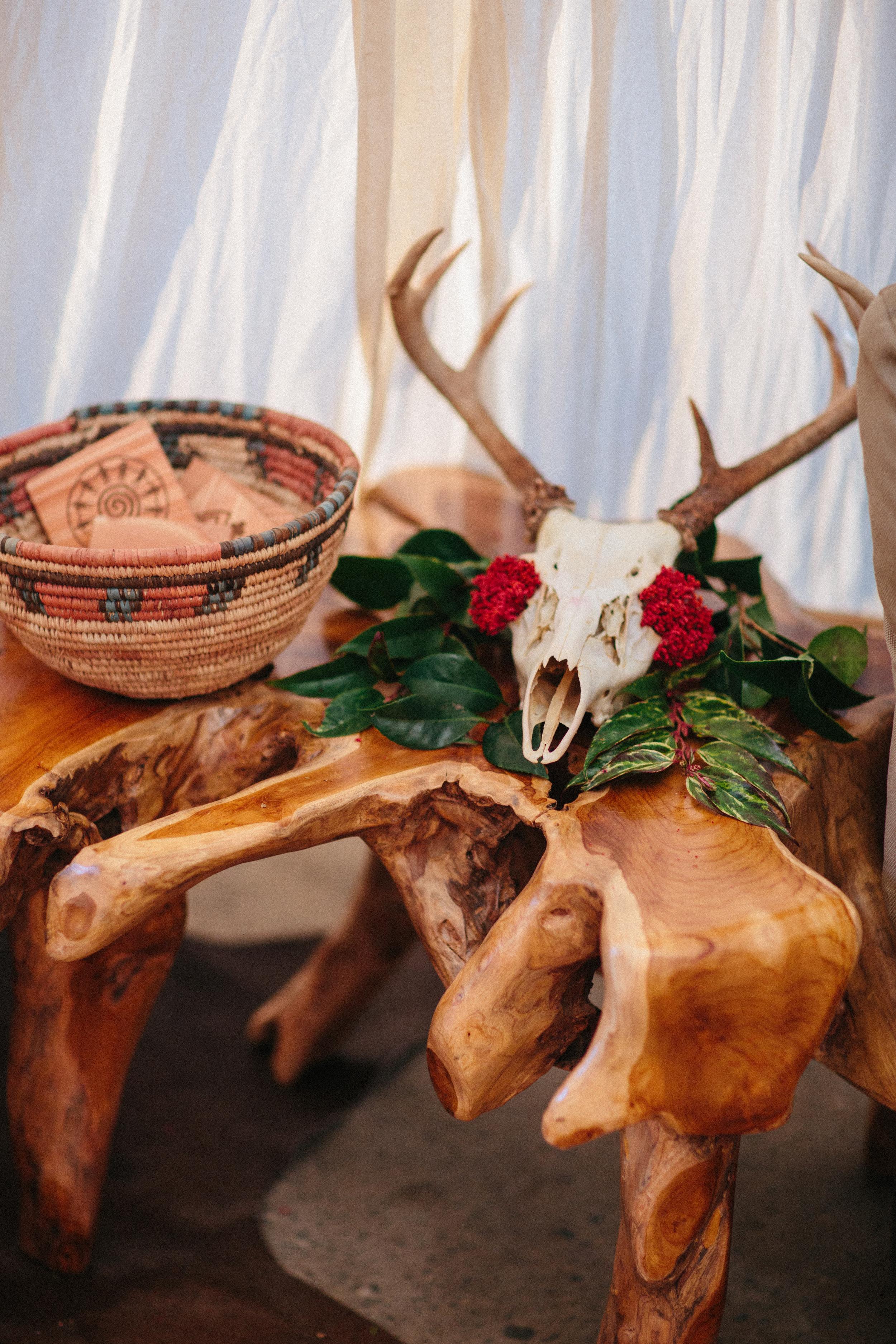 Southwest Bohemain Wedding