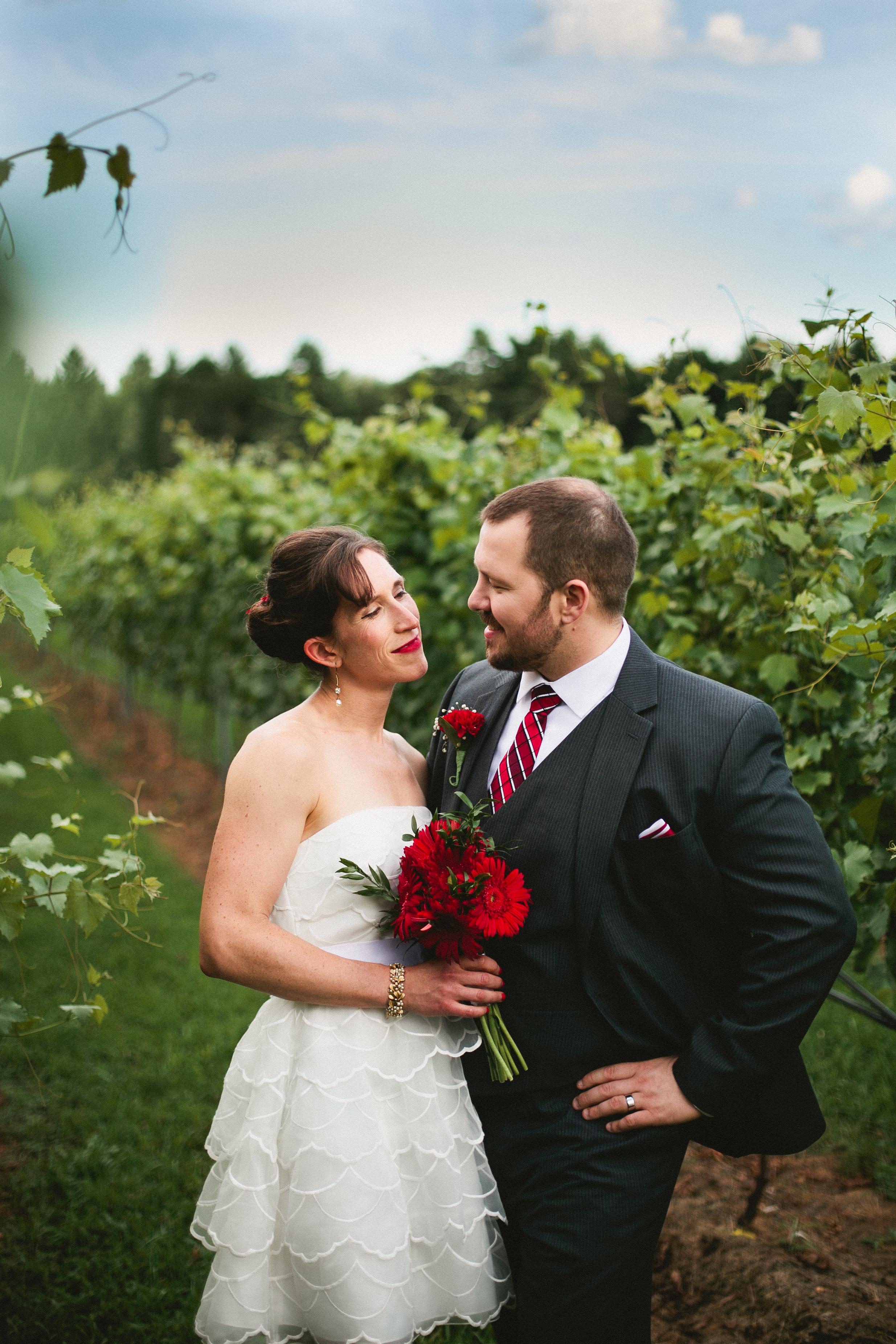 Modern Wedding Design for Winery — Portrait