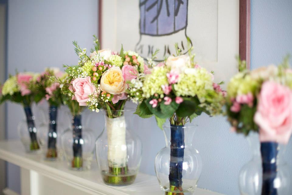 Kate + Rene Summer Garden Wedding — Florals