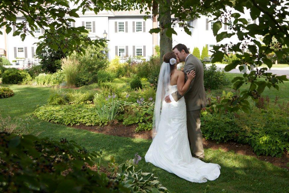 Kate + Rene Summer Garden Wedding — Wedding Portrait