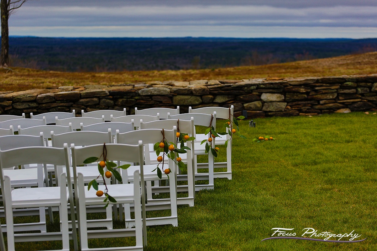Blue Willow Wedding — Ceremony Location