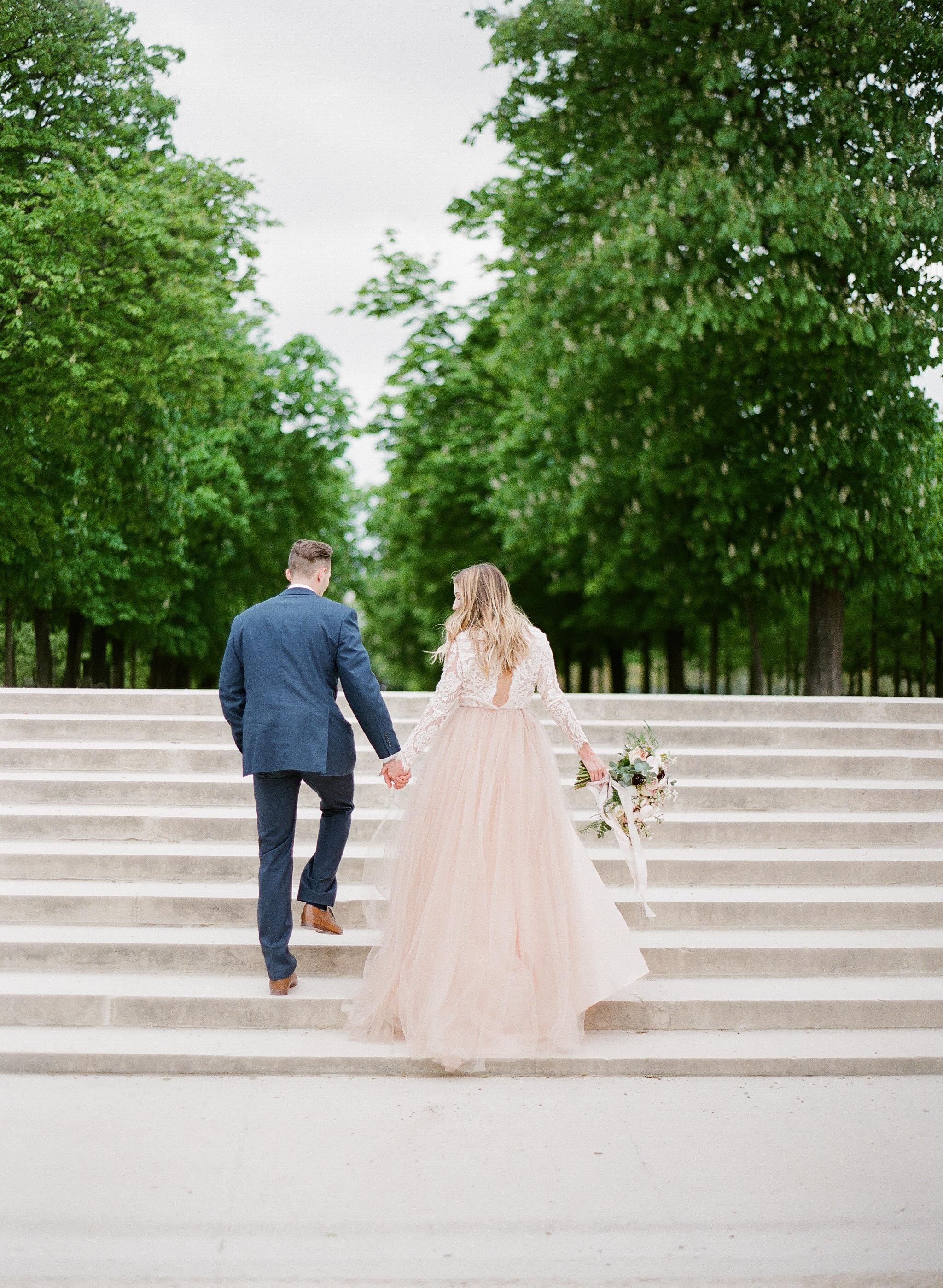 Amanda + Cole, Paris Styled Photoshoot
