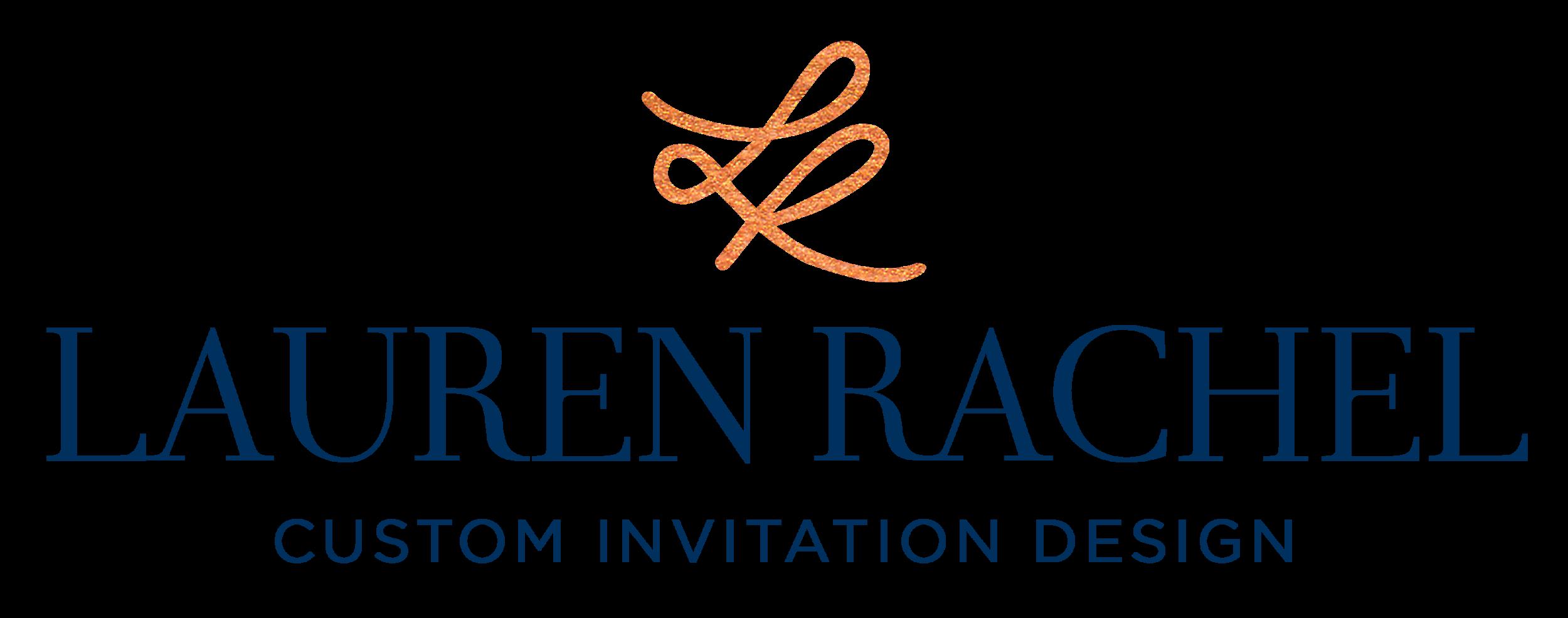 Lauren-Rachel-custom-invitation-design