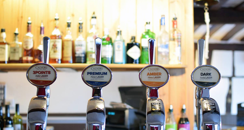 Calvor's range of excellent craft beer.