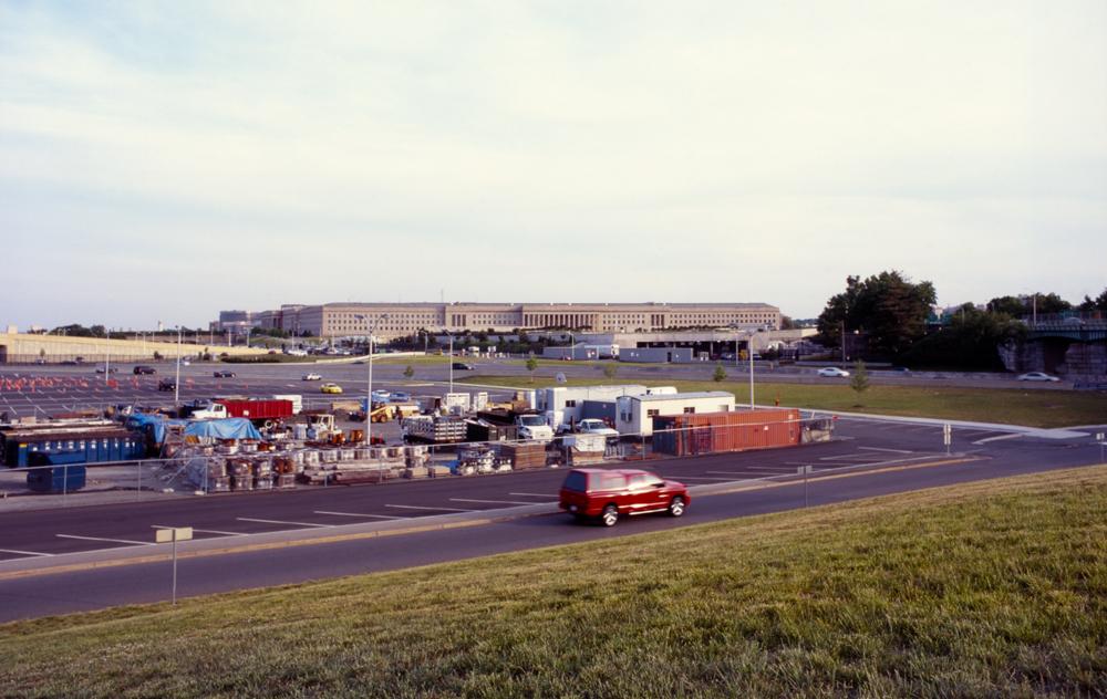 The Pentagon carpark, Washington, DC