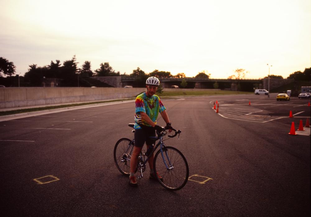 Rick at The Pentagon carpark, Washington, DC