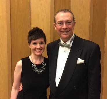 Me and conductor John Koza
