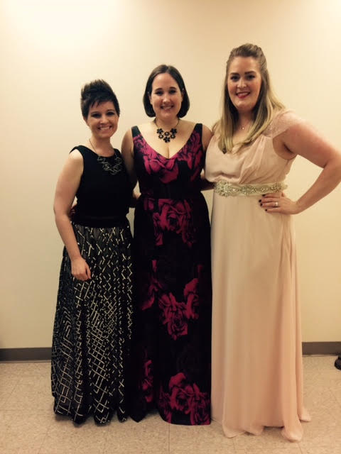 I had such a blast singing with these phenomenal ladies!