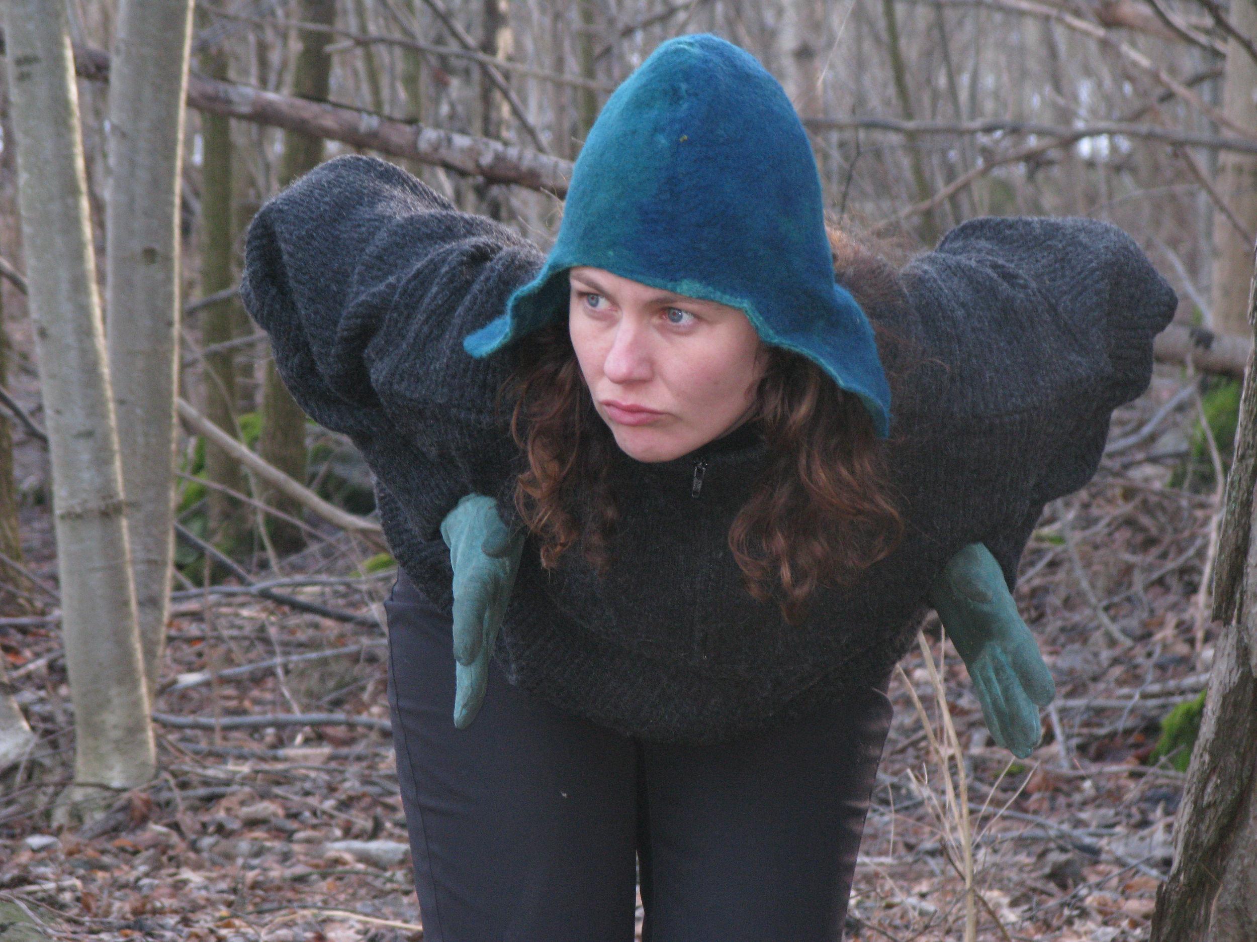 Åpningsforestilling Dans i skogen Kari Anne Vadstensvik Bjerkestrand