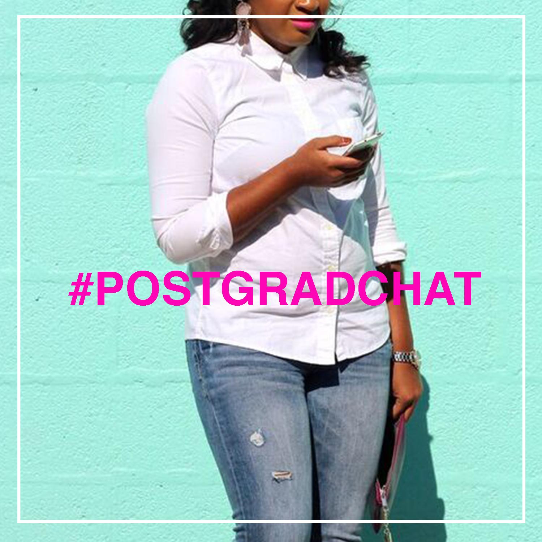 #postgradchat with jasmine diane