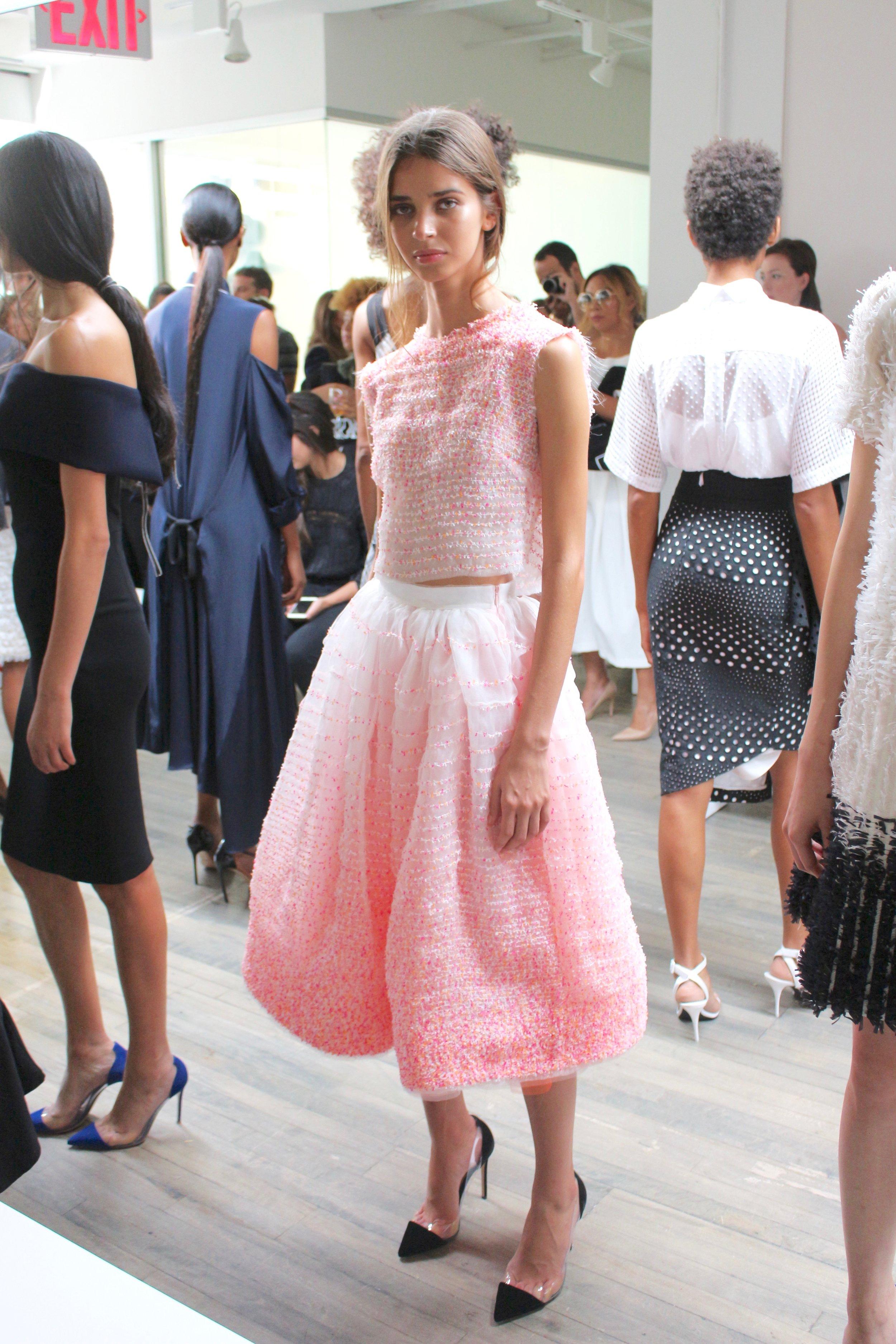 KLS at New York Fashion Week by jasminediane.com