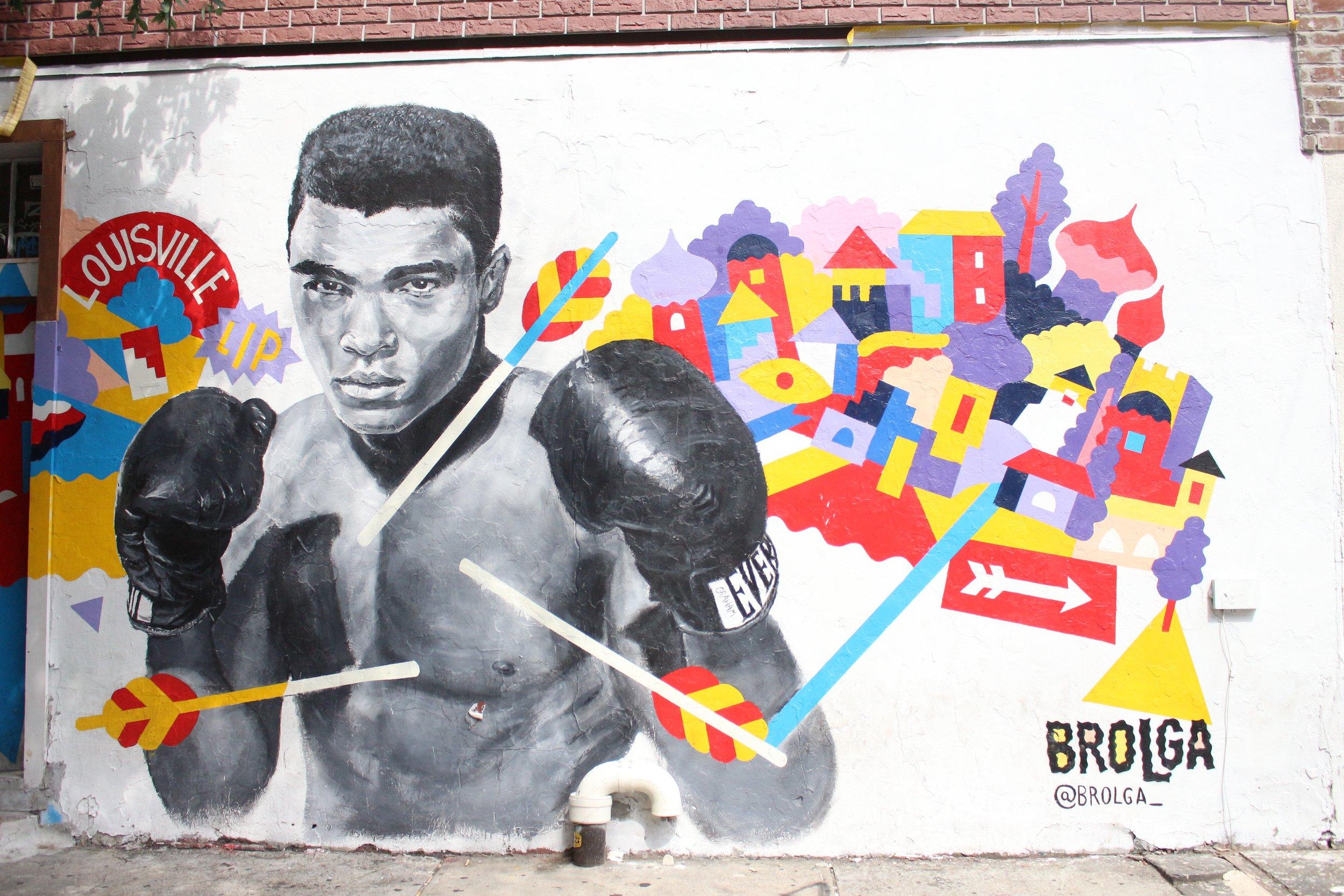 alii wall in brooklyn, NY with jasmine diane