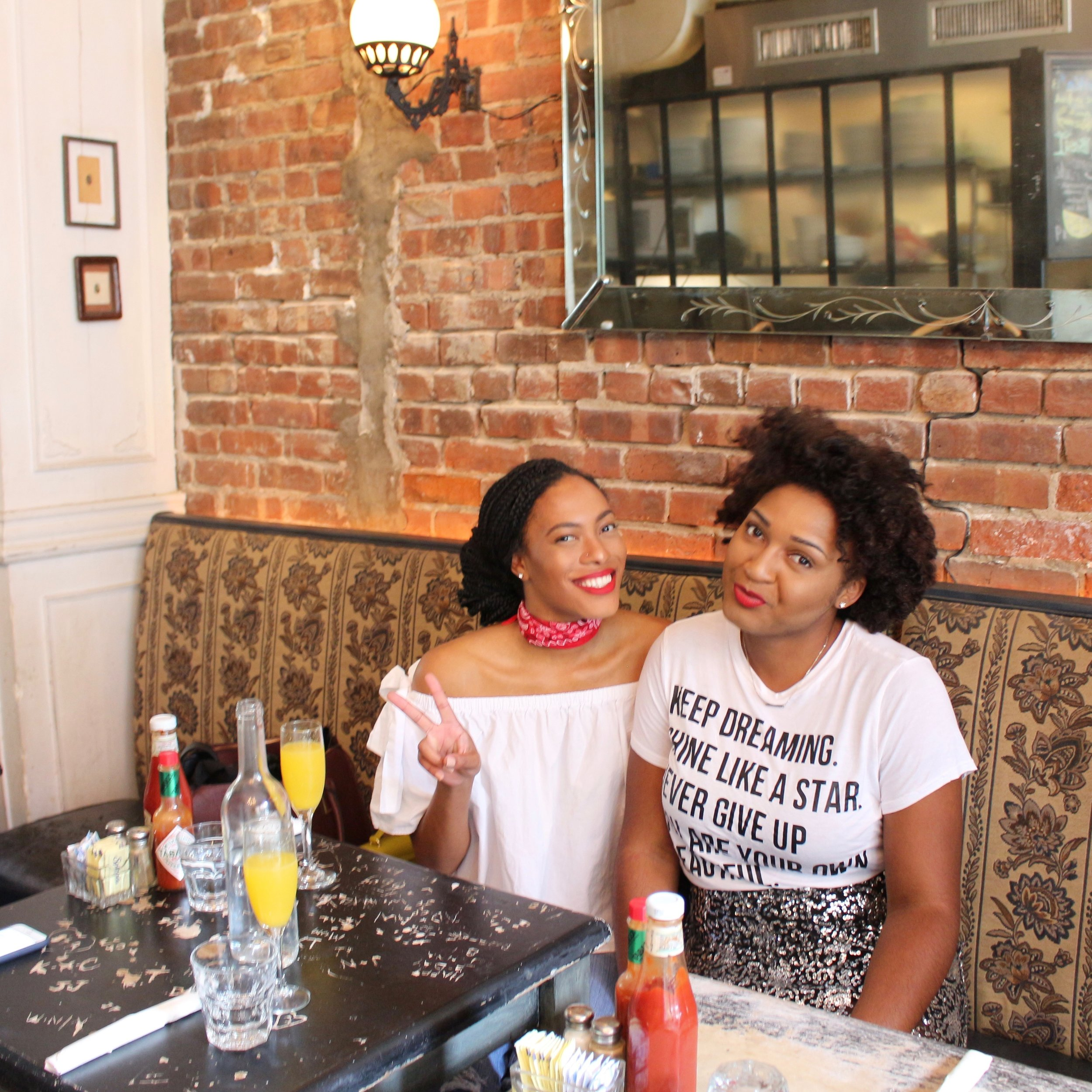 shelby christie and jasmine diane in brooklyn, NY