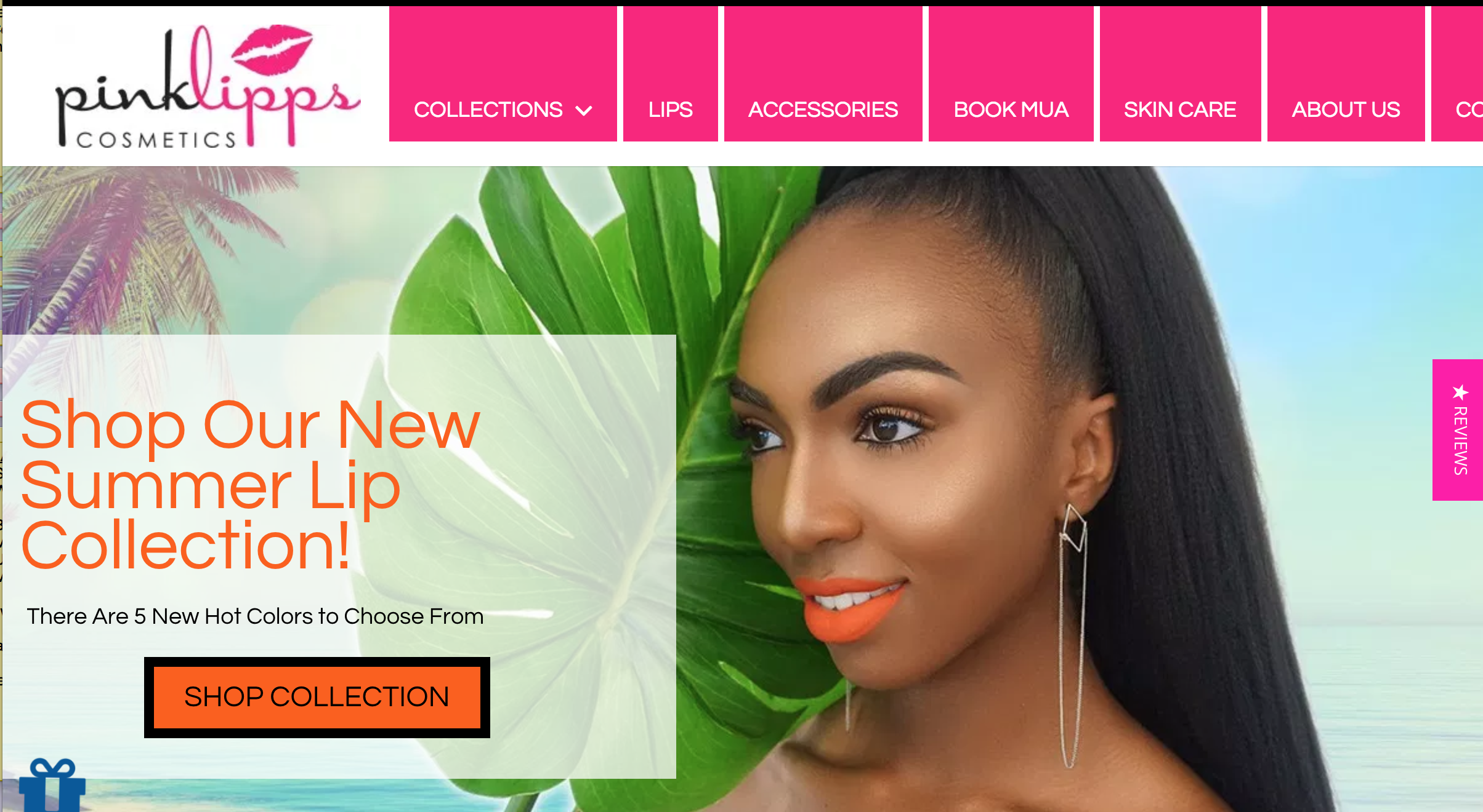 Pink Lipps Branding and marketing