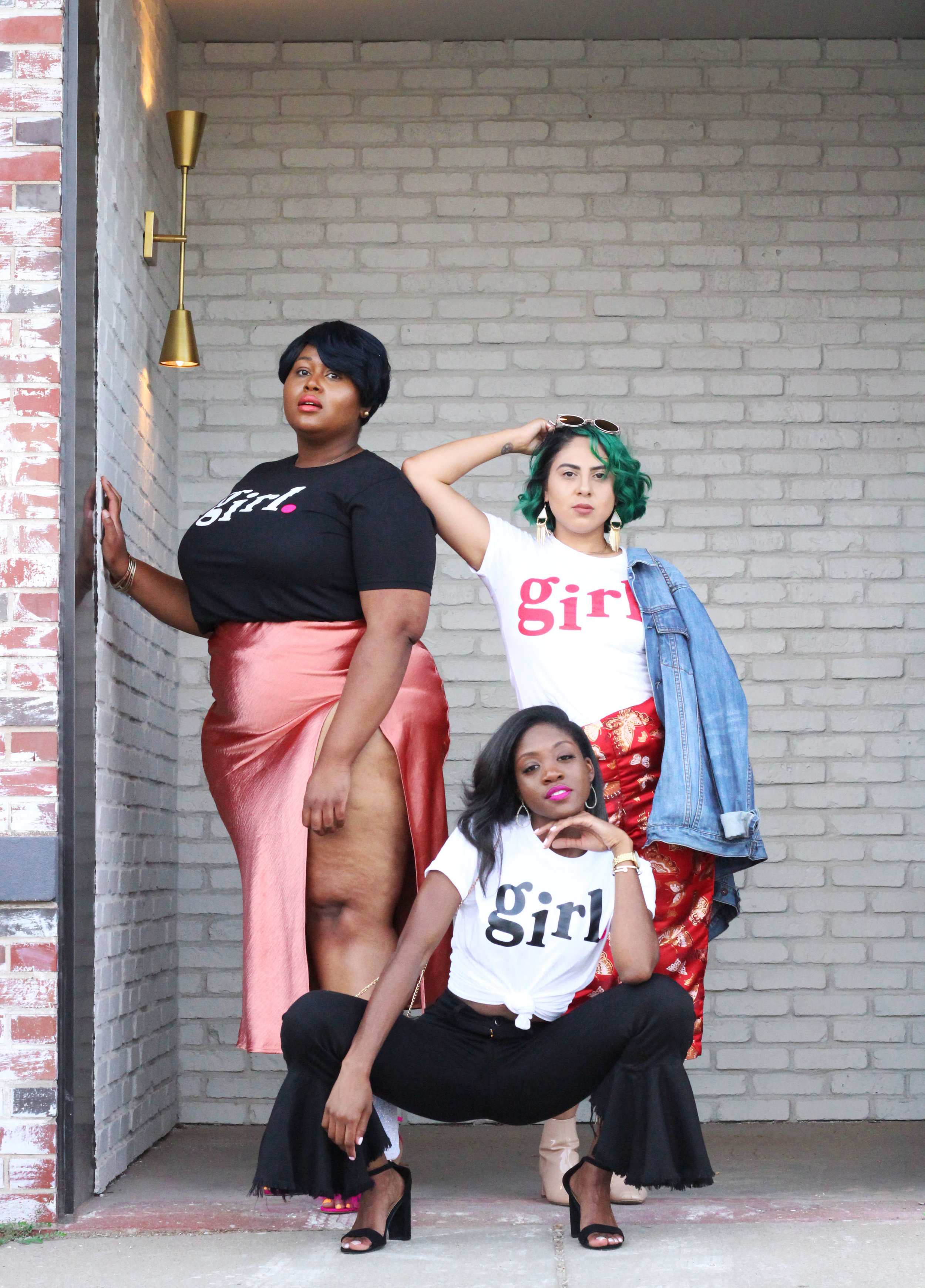 My Girl Stories Phoato Shoot planned by Jasmine Diane in Kansas City featuring Antonia Martin, Esmeralda Lole and Angela Hayes.