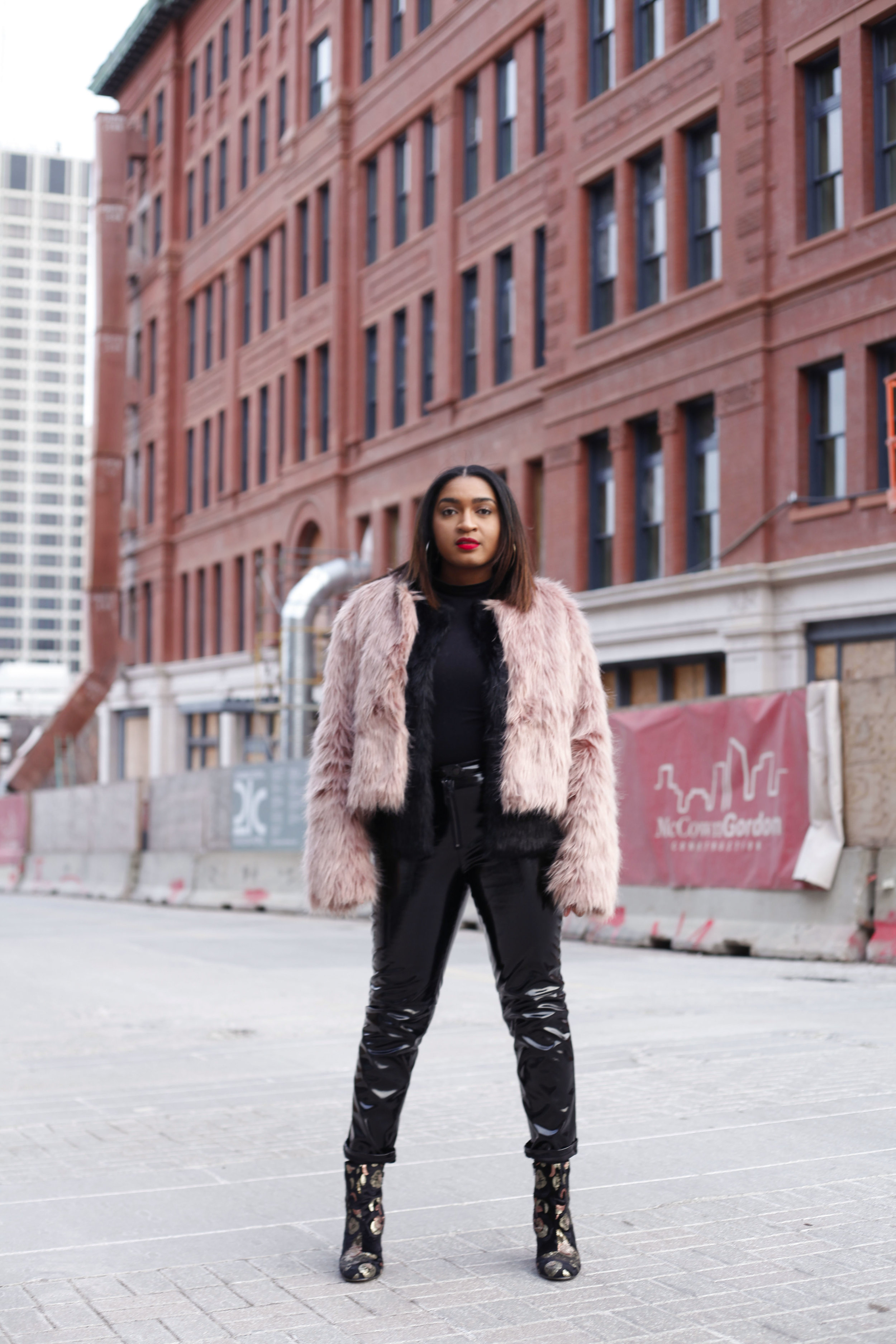 Steven G. Photography takes high fashion image of jasmine diane in downtown kansas city