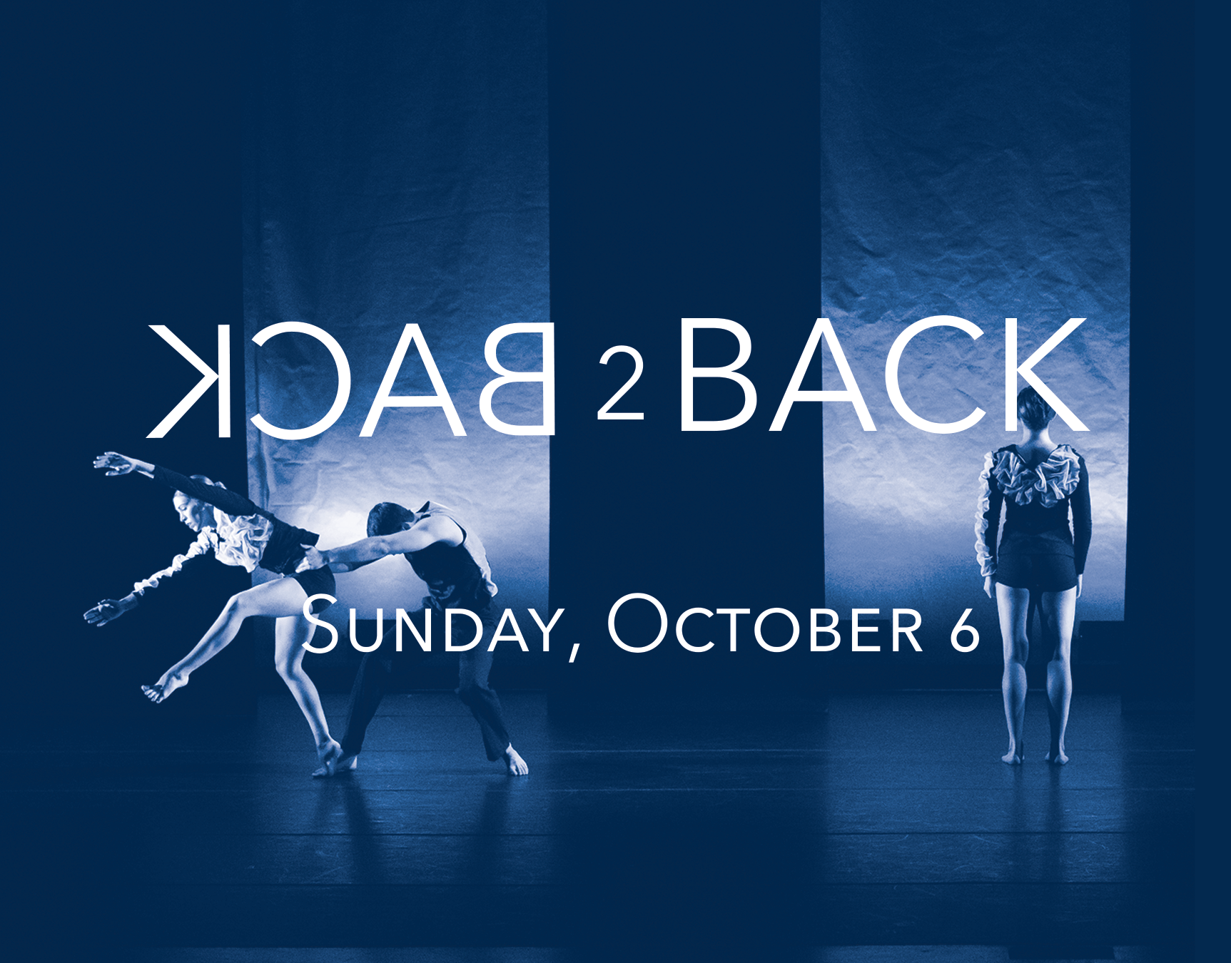 Back2Back|Bach2Beatles - Sunday, October 6 | 2:00pmCelebrate as Eisenhower Dance Detroit opens it's 29th Metro Series Season with Back2Back|Bach2Beatles. In collaboration with Detroit electro-pop violin band, Nuclassica, this exhilarating double bill will feature EDD Artistic Director, Stephanie Pizzo's, The Lovely Exchange, set to Bach's Partita for Violin Solo No. 1 in B Minor and the premiere of her new work set to the timeless music of the Beatles with live musical accompaniment.$18 General Admission$14 Senior (Ages 62+)$10 StudentSeligman Performing Arts Center22305 W. Thirteen Mile Rd. Beverly Hills, MI 48025.