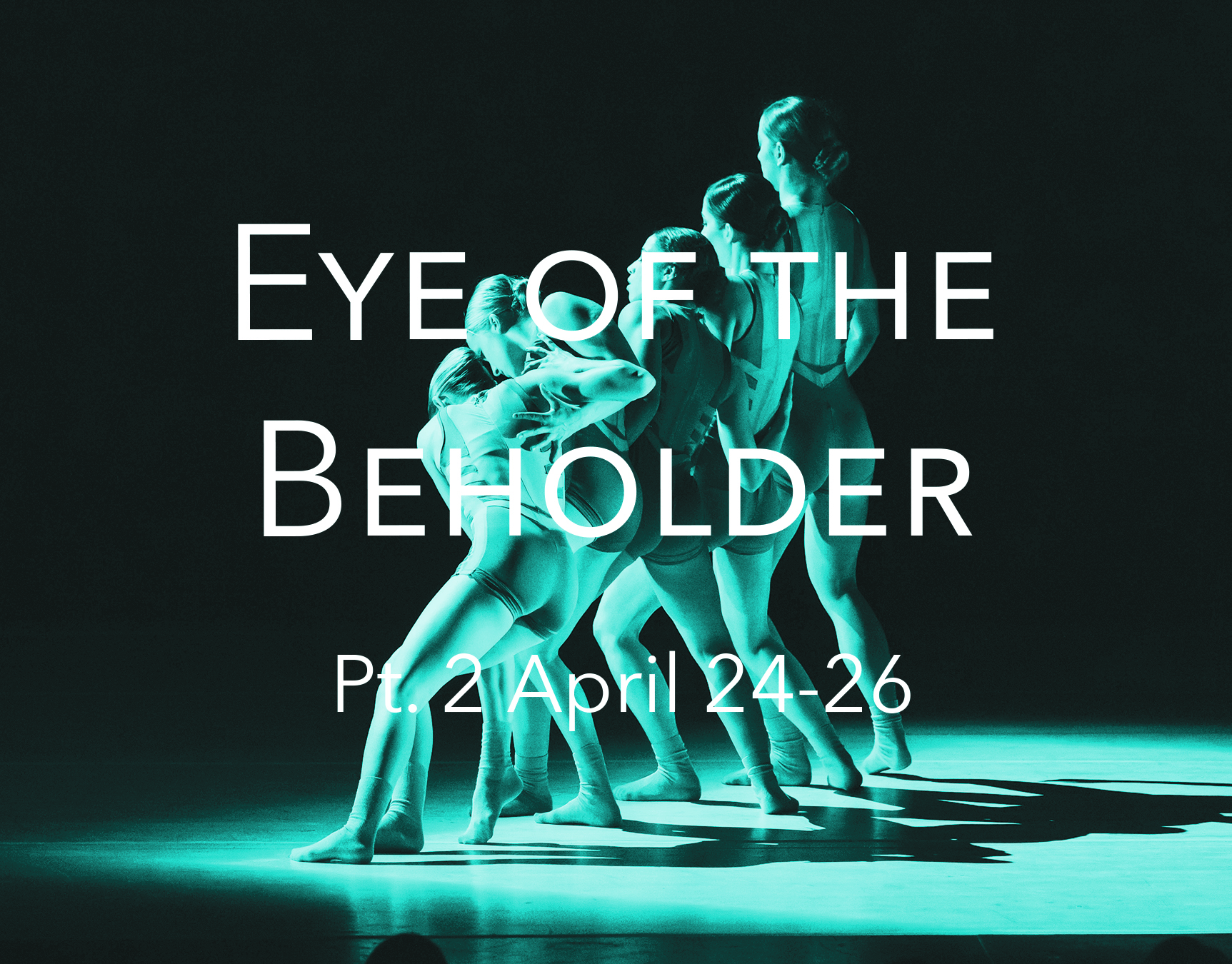 Eye of the Beholder (Pt. 2) - Friday, April 24 | 7:00pmSaturday, April 25 | 7:00pmSunday, April 26 | 3:00pmCould the innate definition of truth and justice lie solely in the eye of the beholder? Join EDD Artistic Director, Stephanie Pizzo, and the acclaimed EDD dancers as they investigate perspective...how it shapes judgment and impacts culture and society. This two-part, site-specific work, at two uniquely different venues, Oakland University's Varner Recital Hall and the Light Box in Detroit, reimagines what we think of as performance space. Watch contemporary dance transform both environments to create two unique perspectives with a common theme. Join in the artistic process for an interactive experience that will impact the perspective of Part 2 at the Light Box. The program also features the mesmerizing premieres of dances created by renowned choreographers, Christian Denice and Baira.$20 General Admission (one price only)Light Box8641 Linwood St, Detroit, MI 48206
